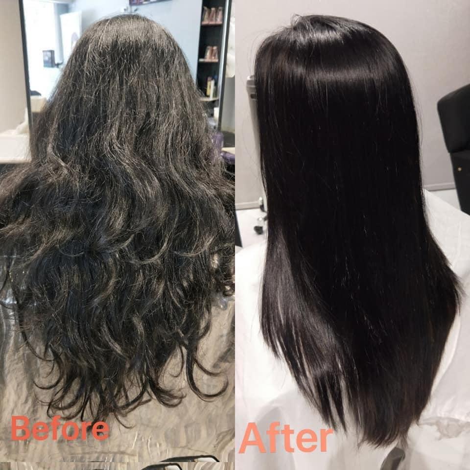 Hair rebonding singapore